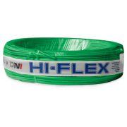 Fio Flexível para Instalação Automotiva Dni Hi-Flex 0,75 mm 100 Metros Verde