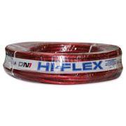 Fio Flexível para Sonorização Profissional de Alta Potência Dni Hi-Flex 21 mm 25 Metros Cristal Verm