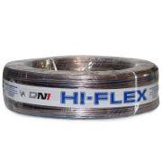 Cabo Paralelo para Instalação Automotiva Dni Hi-Flex 2x2,50 mm 50 Metros Cristal Roxo