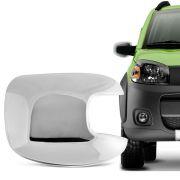 Aplique Cromado para Retrovisor Fiat Uno Atractive 2010 em diante Lado Direito
