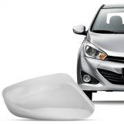 Aplique Cromado para Retrovisor Hyundai Hb20 2013 a 2015 Lado Esquerdo