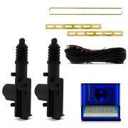 Kit Trava  Elétrica com Cabeça Giratória Universal 2 portas