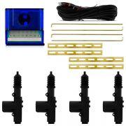 Kit Trava  Elétrica com Cabeça Giratória Universal 4 Portas