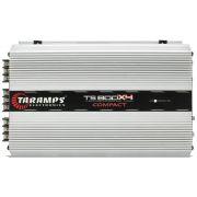 Módulo Amplificador Taramps TS800X4 Compact 800W Rms 4 Canais 200W Rms 1 Ohms