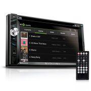 DVD Player Automotivo Multilaser Envolve GP043 Tela 6.2 Pol CD USB Touch Screen Gps Bluetooth TV Dig