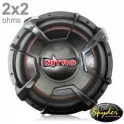 Subwoofer Spyder Nitro G4 SP12-700 12 Pol 700W RMS 2x2 Ohms com tela