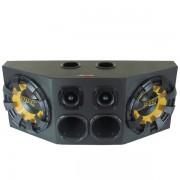 Caixa de Som Dutada Montada Super Trio 650W RMS