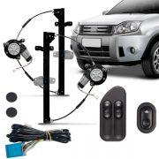 Kit Vidro Elétrico Dianteiro Sensorizado Ecosport 4 Portas