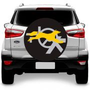Capa para Estepe Raposa Amarela Crossfox Ecosport Doblo Fox com Cadeado