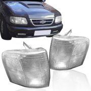 Lanterna Dianteira Pisca Chevrolet S10 Blazer Cristal Lado Esquerdo