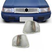 Lanterna Dianteira Pisca Volkswagen Santana Quantum 1991 a 1997 Cristal Lado Esquerdo