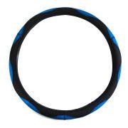 Capa de Volante Tuning Universal Azul com Preto