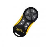 Capa Controle Remoto JFA TX Amarelo + Cordão Somente capa