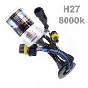 L�mpada Xenon H27 8000k Reposi��o Unidade