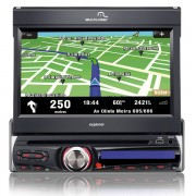 Rádio Automotivo Multilaser AM/FM DVD MP3 Player Explorer P3156 c/ TV Digital GPS USB Cartão Tela To