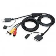 Cabo USB JVC Kenwood para iPod - iPhone KS-U30