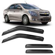 Calha de Chuva Acr�lica Adesiva Chevrolet Cobalt 4 portas 2012