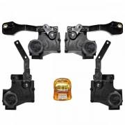 Trava Elétrica Específico p/ Fechadura Chevrolet Agile - 4 portas - KIT