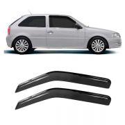 Calha de Chuva Acrílica Adesiva Volkswagen Gol/Parati G2/G3/G4 2 Portas