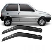 Calha de Chuva Acrílica Adesiva Fiat Uno – 2 portas