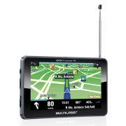 Navegador Gps Multilaser 7 Tracker III  GP038  Com Tv Fm