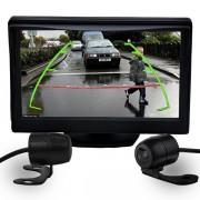 Kit camera com tela 4,3 Polegadas c/ 2 cameras