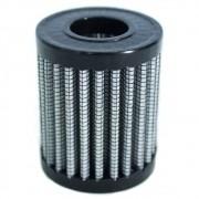 Filtro ar esportivo GNV 51mm prata