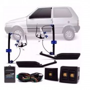 Kit Vidro Elétrico Sensorizado Uno Quadrado 2 Portas 2004 a 2013