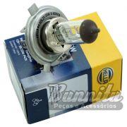 Lâmpada Halógena Hella para fárois H4 12V 35/35 Watts
