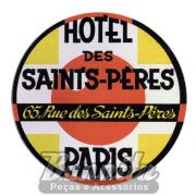 Adesivo modelo - Hotel Des Saint`s Péres - Paris