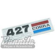 Emblema lateral modelo 427 para Ford Shelby Cobra