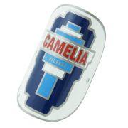 Emblema plaqueta para bicicleta modelo Camelia