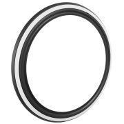 Banda faixa branca filete para pneu aro 15