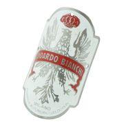 Emblema plaqueta para bicicleta modelo Edoardo Bianchi