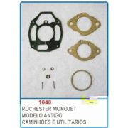 Kit de reparo do carburador Rochester Monojet para GM 6 cil