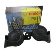 Buzina Bosch modelo paquerinha caracol 12V Universal preta