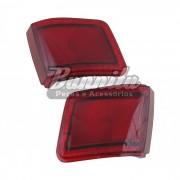 Lanterna traseira acrílica vermelha (Canto) para GM Chevette hatch 1980 à 1982