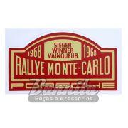 Adesivo modelo Porsche Rallye Monte Carlo 1968