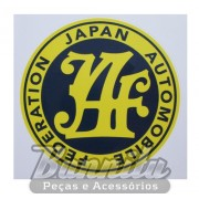 Adesivo modelo - Automobile Federation Japan