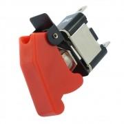 Chave geral com capa na cor vermelha modelo caça para aplicação universal
