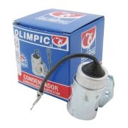 Condensador Olimpic para Opala, Caravan, Veraneio e Pick Up 4 ou 6 cil 1969 à 1984