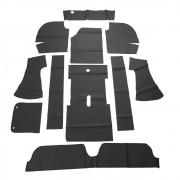 Forração interna passadeira na cor preta para VW Variant 1