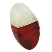 Lente da lanterna traseira mod. rubi / cristal  para VW Fusca 1200 e 1300