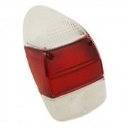 Lente da lanterna traseira mod. rubi / cristal para VW Fusca 1500 1600-S - Acrílico
