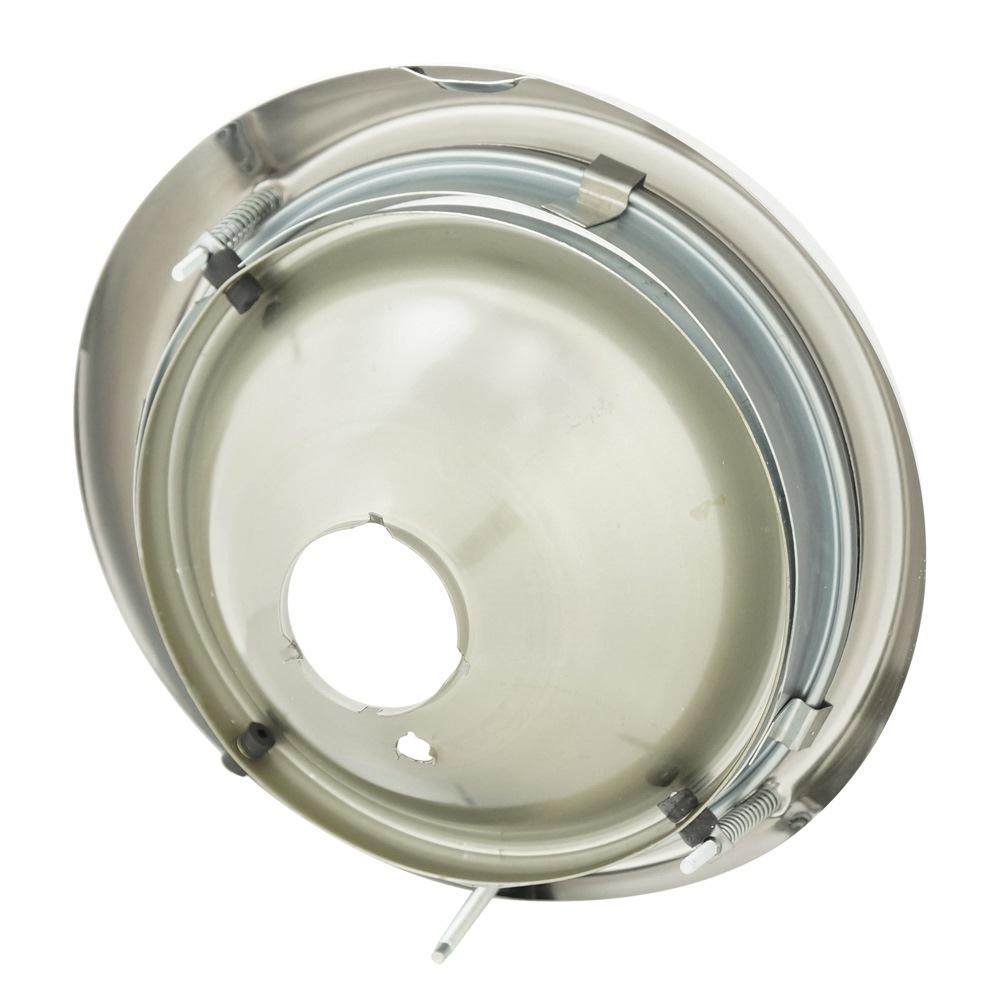 Farol em metal e lente de vidro para VW Fusca 1973 à 1975  - Bunnitu Peças e Acessórios