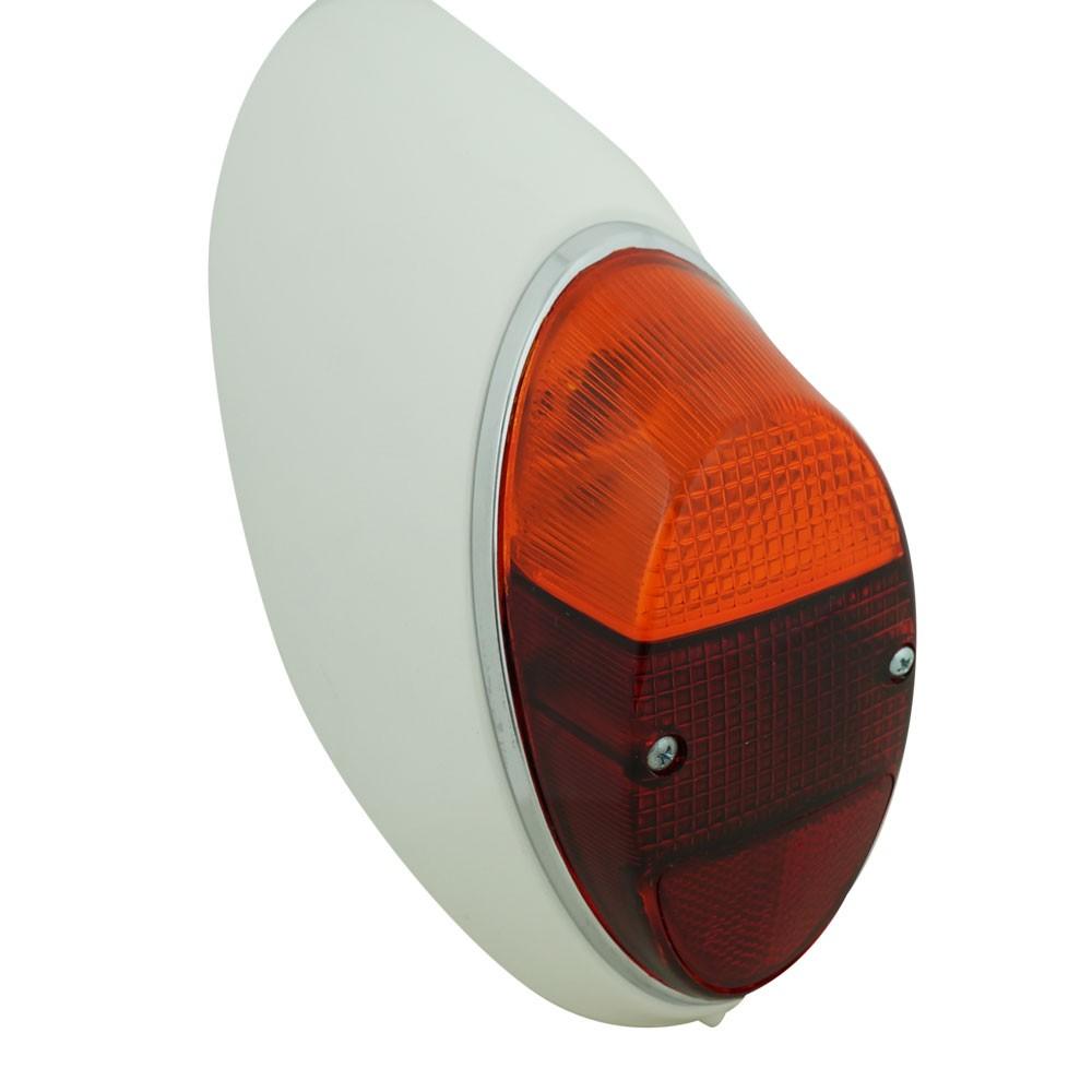 Lanterna traseira bicolor para VW Fusca 1200 1300  - Bunnitu Peças e Acessórios