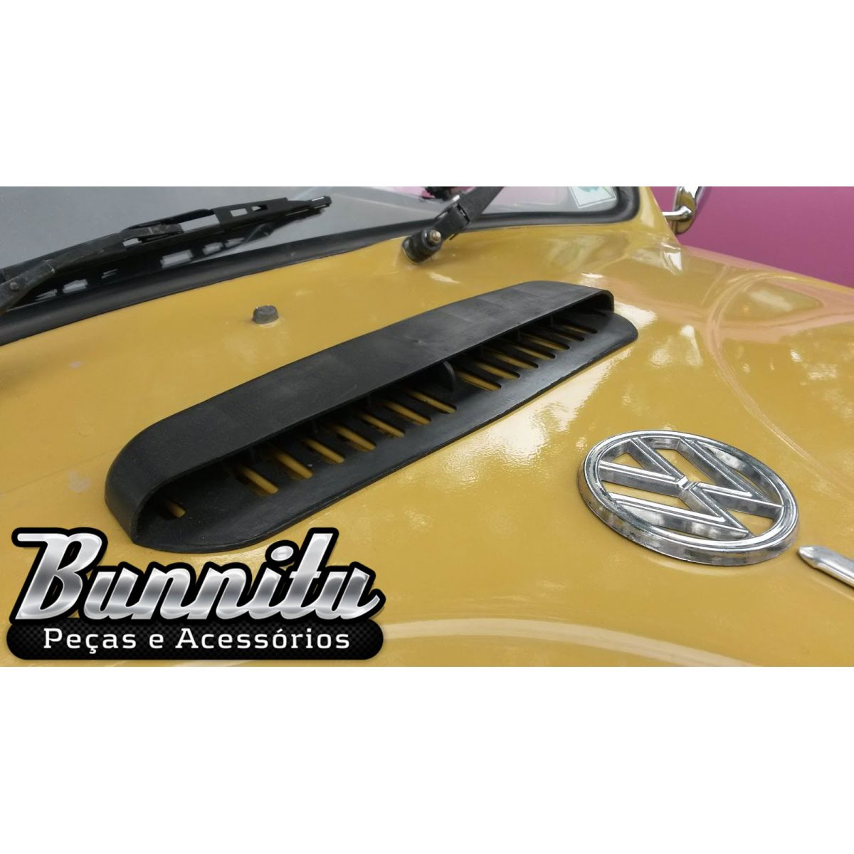 Tomada de ar do capo dianteiro para VW Fusca 1975 à 1996  - Bunnitu Peças e Acessórios