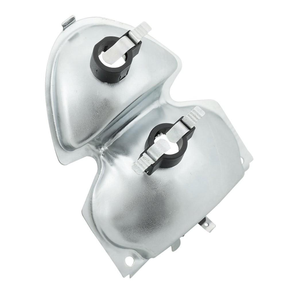 Carcaça com soquete da lanterna traseira para VW Fusca 1500  - Bunnitu Peças e Acessórios