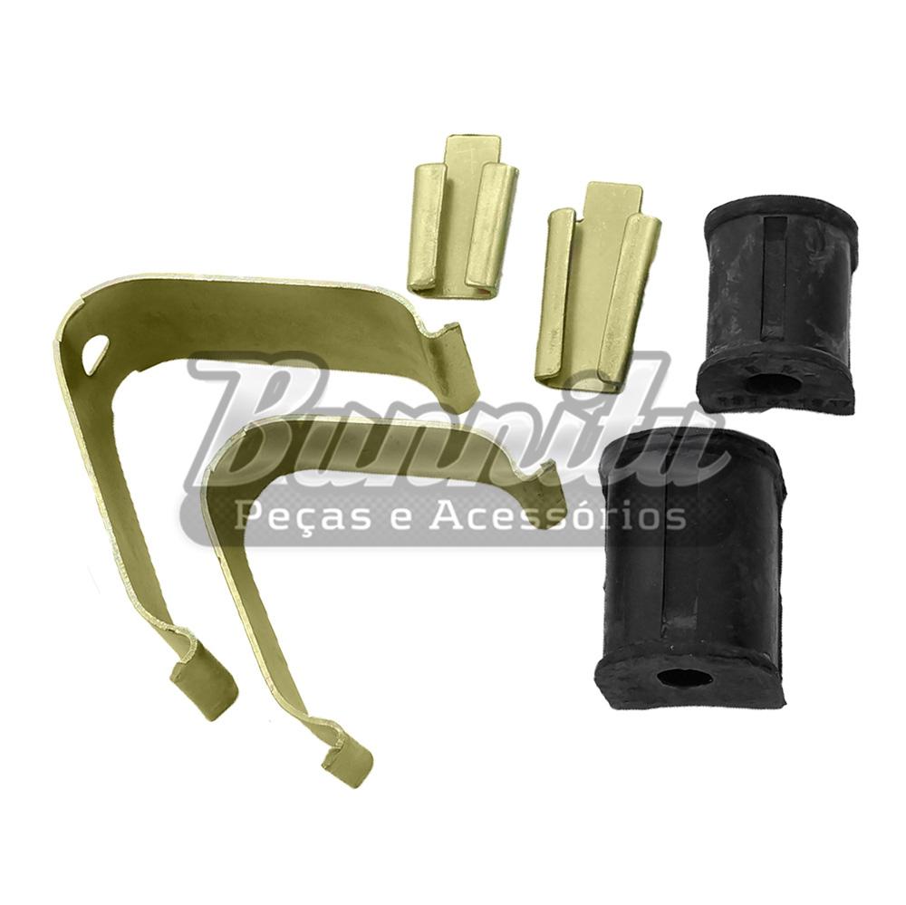 Kit da barra estabilizadora dianteira para suspensão de VW Fusca, Brasília e Variant  - Bunnitu Peças e Acessórios