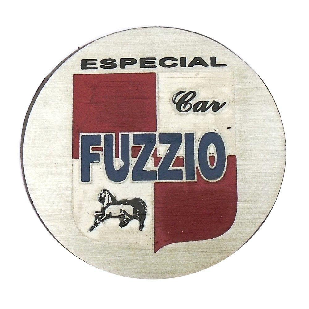 Emblema do botão de buzina Fuzzio para carros  - Bunnitu Peças e Acessórios